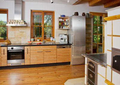 Küche in Buche
